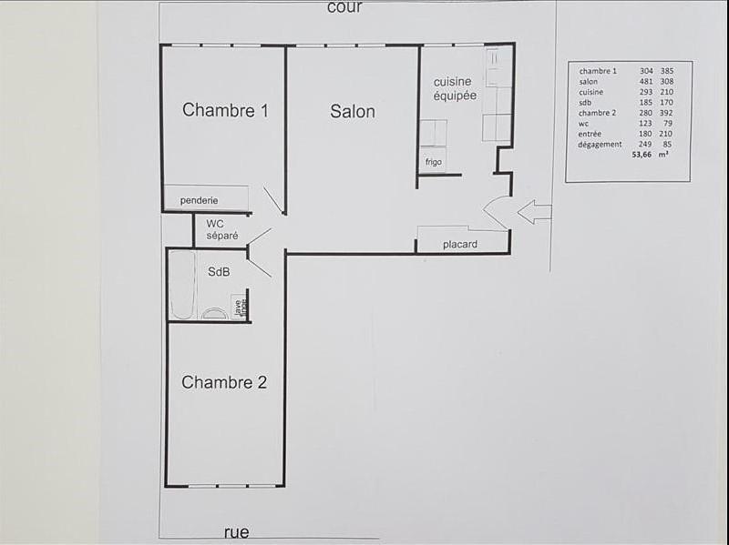 Verkoop  appartement Paris 15ème 460000€ - Foto 8