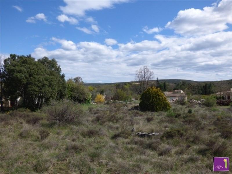 Vendita terreno Vallon pont d arc 65000€ - Fotografia 1