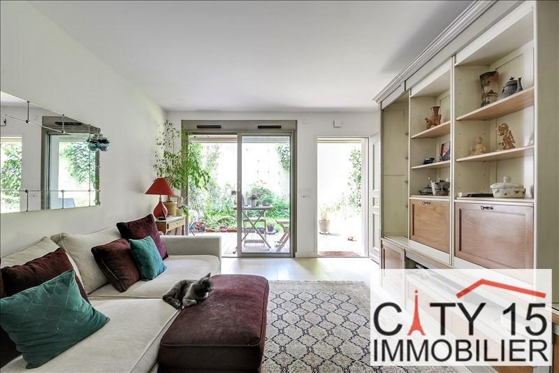 Vente de prestige appartement Paris 15ème 865000€ - Photo 2