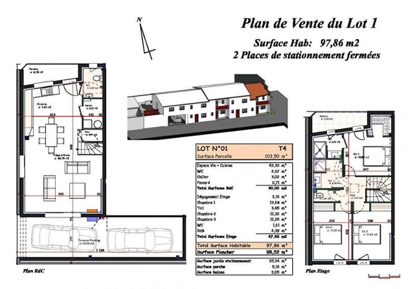 Venta  casa Biscarrosse plage 376300€ - Fotografía 2