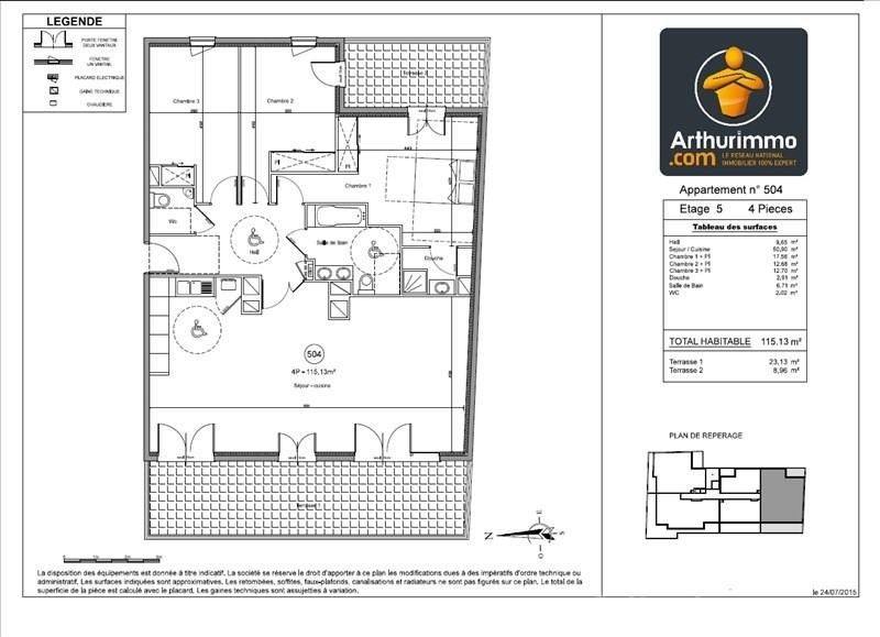 Deluxe sale apartment Juan les pins 750000€ - Picture 2