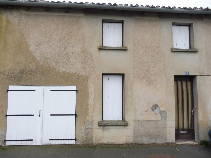Vente maison / villa St leger sous cholet 75720€ - Photo 1