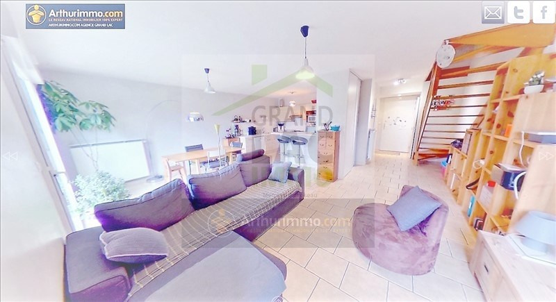 Vente appartement Drumettaz clarafond 335 000€ - Photo 2