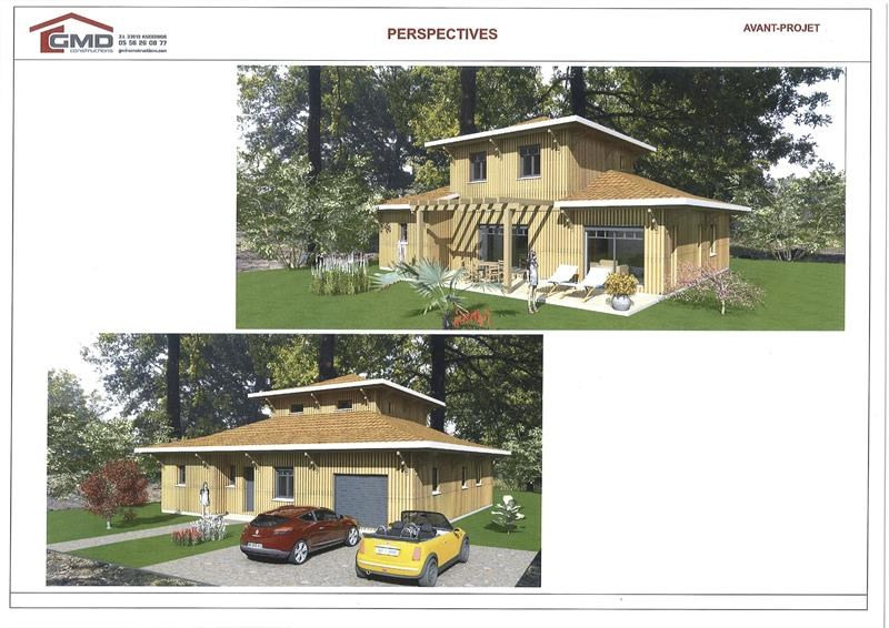Terrain  de 980 m² Petit Piquey par GMD CONSTRUCTIONS