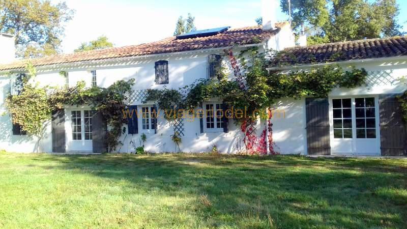 Viager maison / villa Gaillan-en-médoc 130000€ - Photo 1