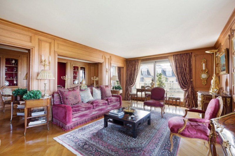 Venta de prestigio  apartamento Paris 16ème 3450000€ - Fotografía 3