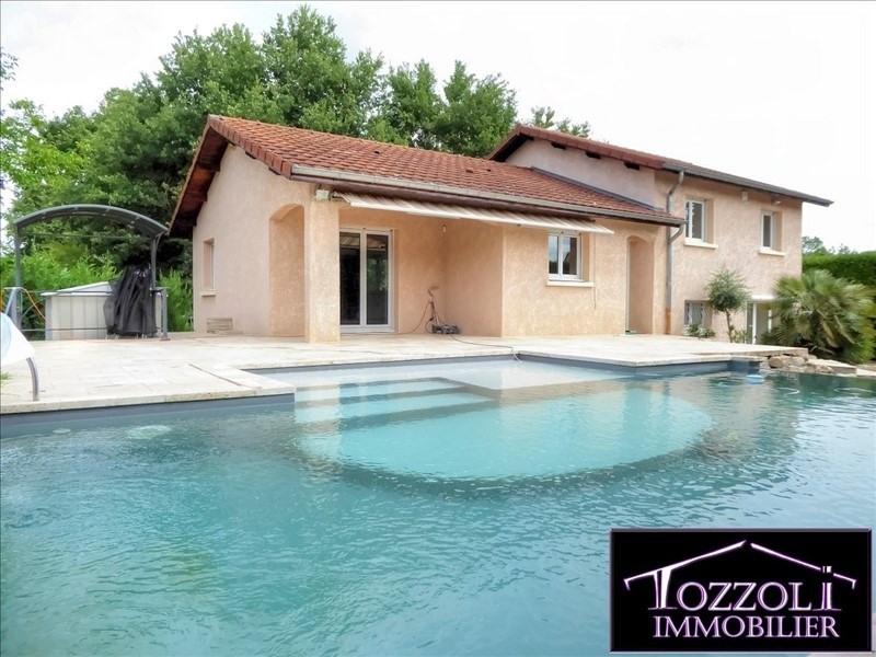 Vente maison / villa Colombier saugnieu 420000€ - Photo 1