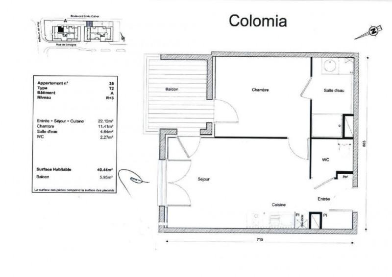 Location appartement Colomiers 547€ CC - Photo 8