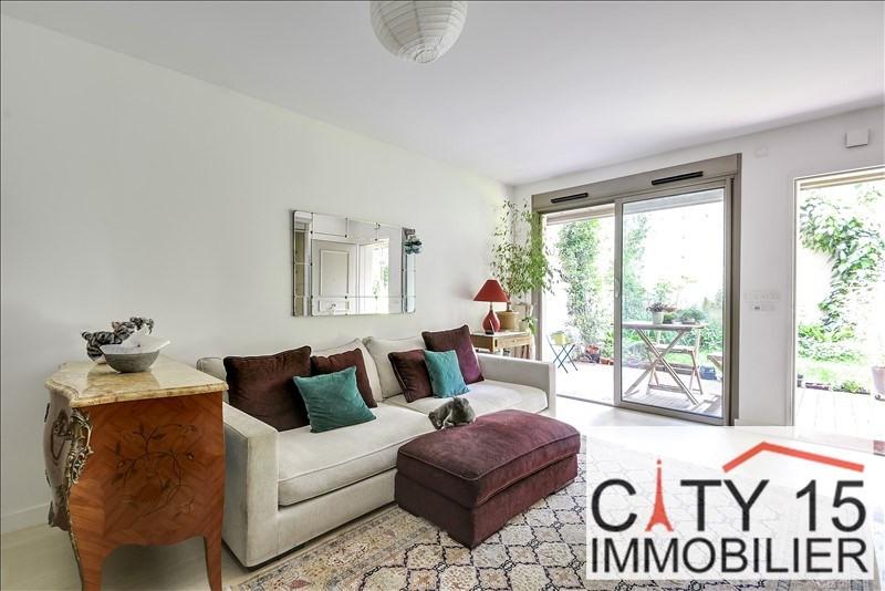 Vente de prestige appartement Paris 15ème 865000€ - Photo 4
