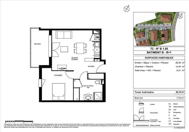 Vente appartement Portet sur garonne 161000€ - Photo 7