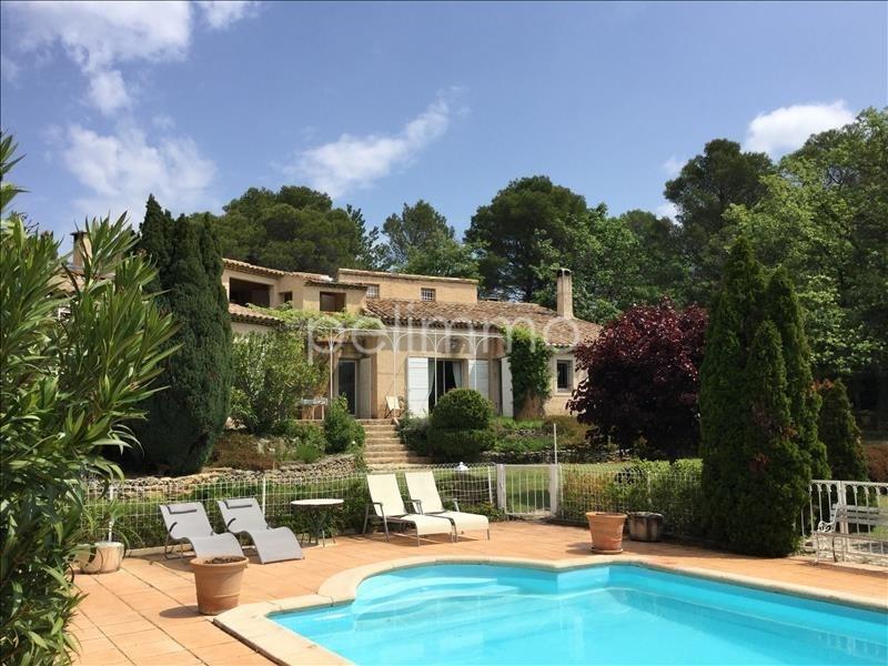 Vente de prestige maison / villa Rognes 858000€ - Photo 1