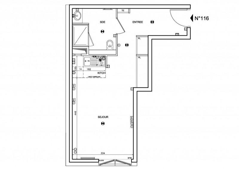 Vente appartement Boulogne-billancourt 293000€ - Photo 1