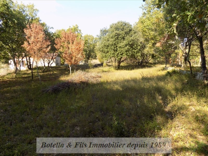 Vendita terreno Barjac 94500€ - Fotografia 3