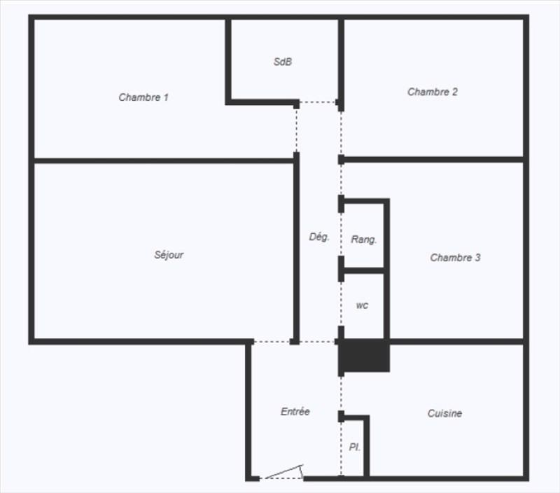 Venta  apartamento Vitry sur seine 255000€ - Fotografía 3