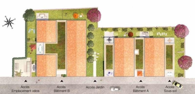 Sale apartment Ste foy les lyon 410000€ - Picture 2