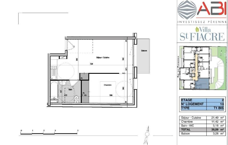 Location appartement Dijon 547€ CC - Photo 7