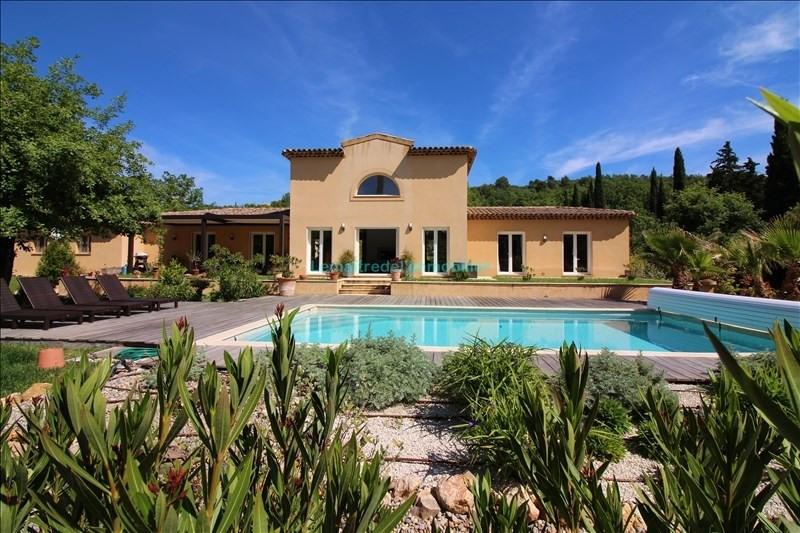 Vente de prestige maison / villa Saint cezaire sur siagne 735000€ - Photo 1