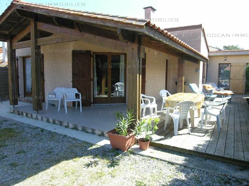 Vacation rental house / villa Lacanau-ocean 453€ - Picture 1
