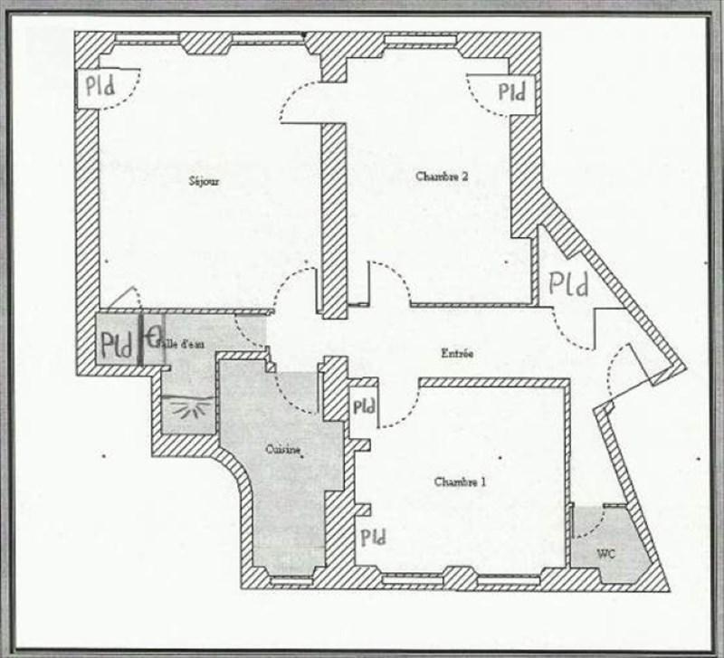 Vente appartement Versailles 505000€ - Photo 5