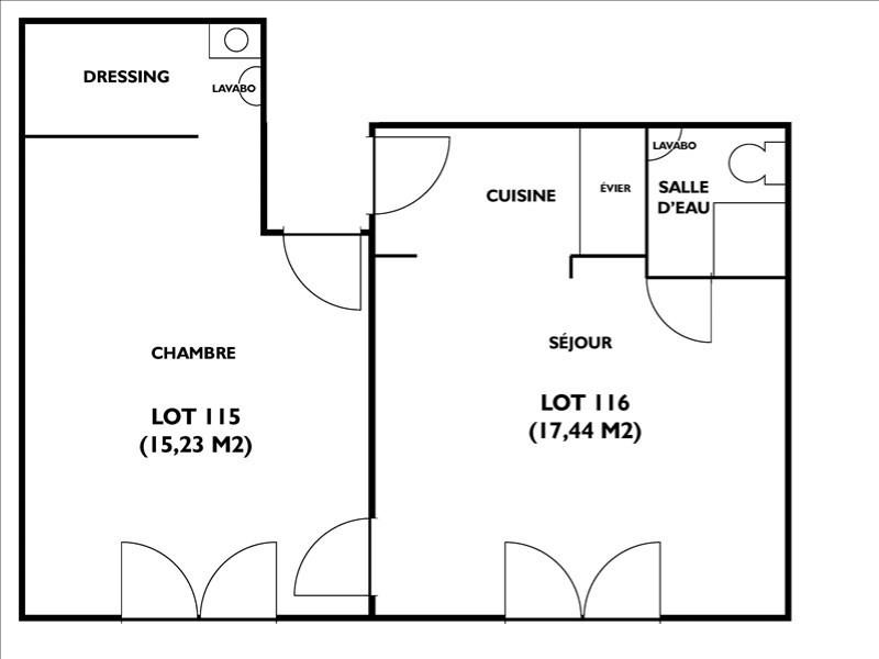 Venta  apartamento Paris 10ème 350000€ - Fotografía 8