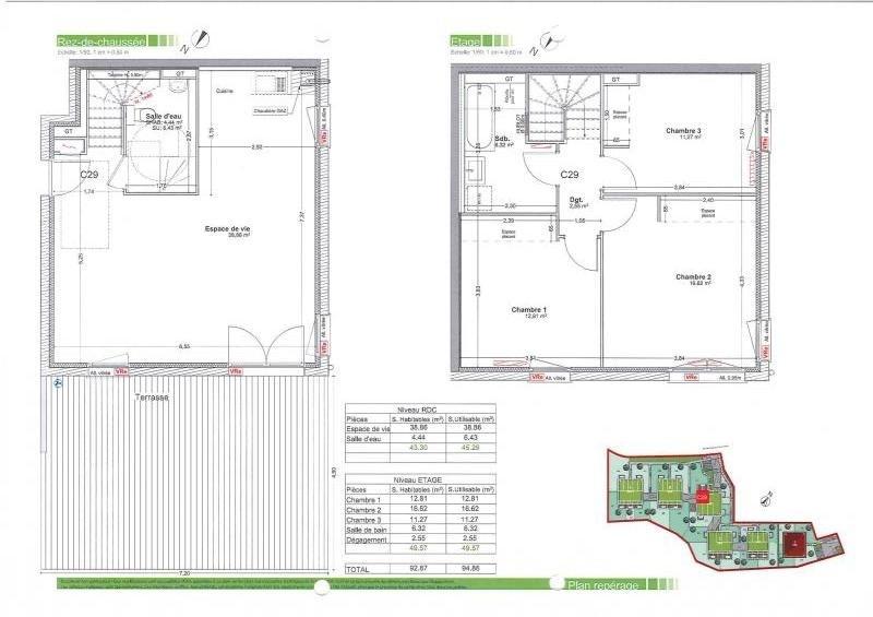 Sale apartment Gaillard 414500€ - Picture 2