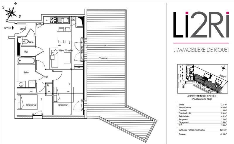 Vente appartement Toulouse 370000€ - Photo 8