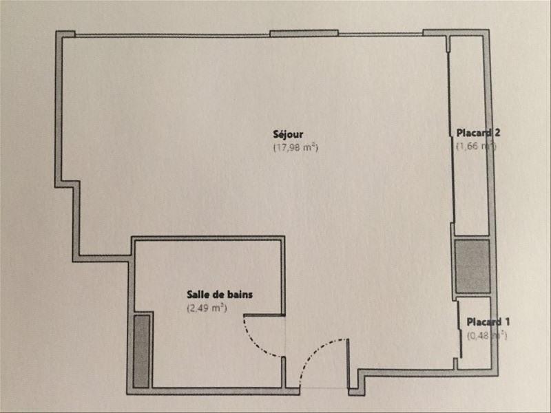 Vente appartement Boulogne billancourt 215000€ - Photo 1