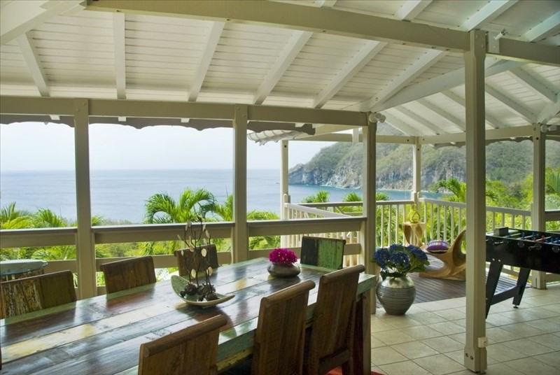 Deluxe sale house / villa Deshaies 895000€ - Picture 1