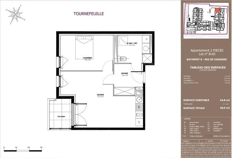 Vente appartement Tournefeuille 169000€ - Photo 8