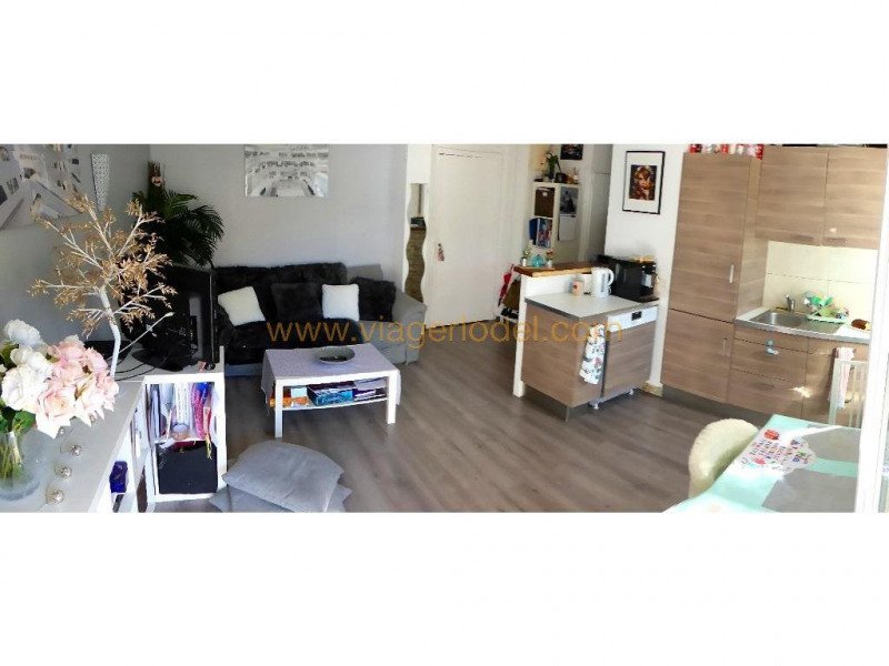 Viager appartement Cannes 90 000€ - Photo 1