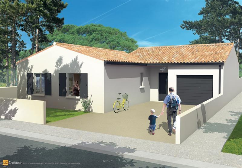 Maison  4 pièces + Terrain 308 m² La Jarrie par LES ARTISANS CONSTR CHARENTAIS