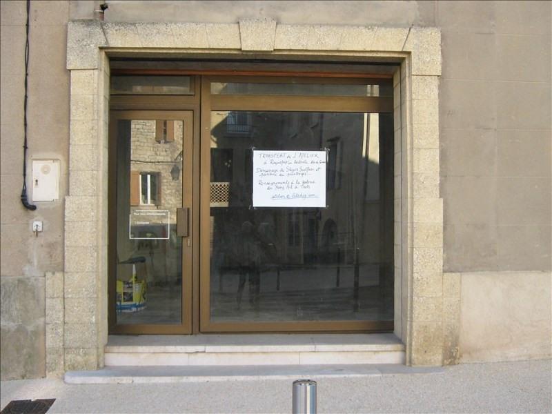 Venta  local Trets 88000€ - Fotografía 1