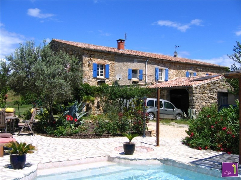 Sale house / villa Barjac 450 000€ - Picture 1