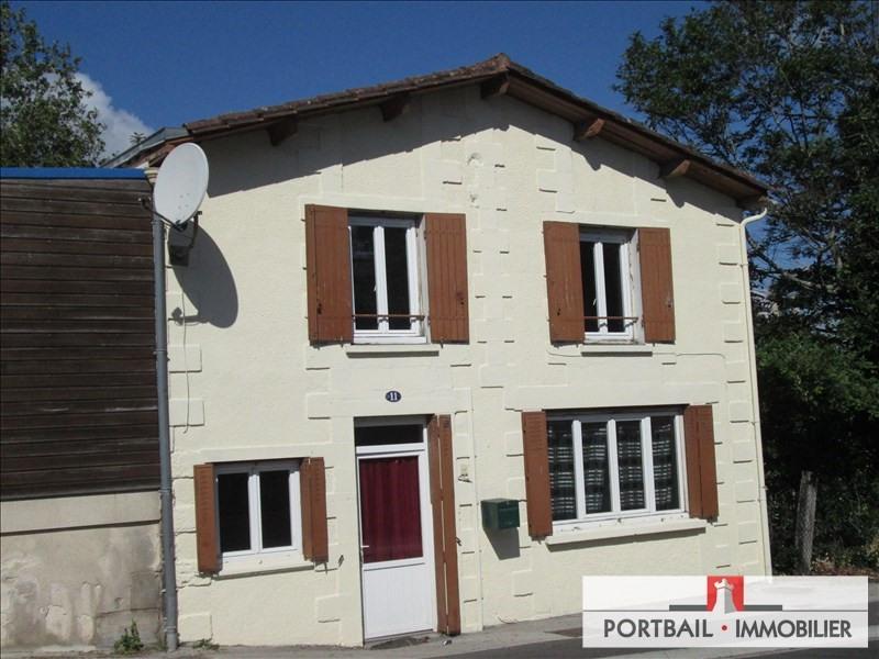 Sale house / villa Montendre 75000€ - Picture 1