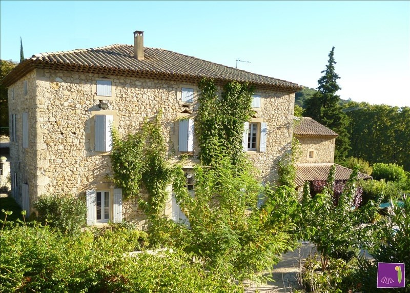 Deluxe sale house / villa Uzes 695000€ - Picture 12