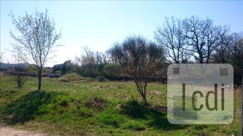 Vente terrain Salles-sous-bois 90000€ - Photo 2