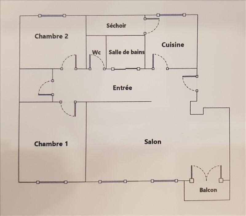 Sale apartment Vitry sur seine 208000€ - Picture 6