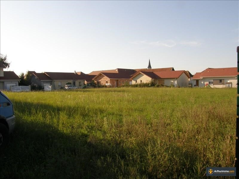Vente terrain Morestel 60500€ - Photo 4