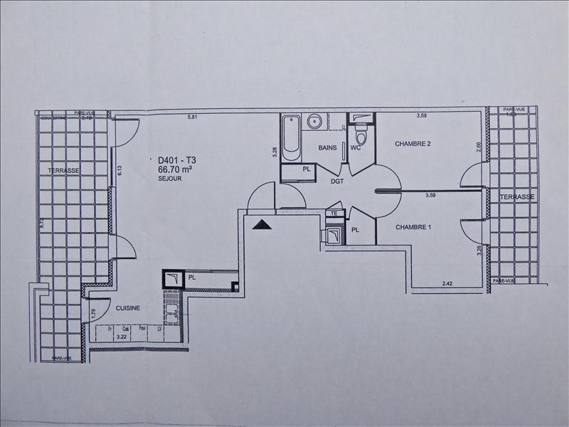 Vendita appartamento Aix les bains 319000€ - Fotografia 8