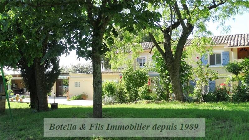 Vente maison / villa Bagnols sur ceze 329000€ - Photo 1