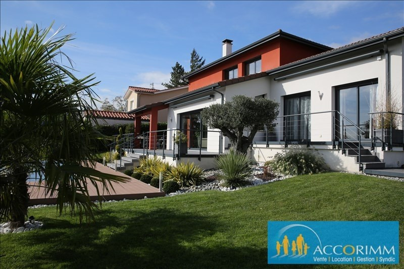 Deluxe sale house / villa Communay 916000€ - Picture 1