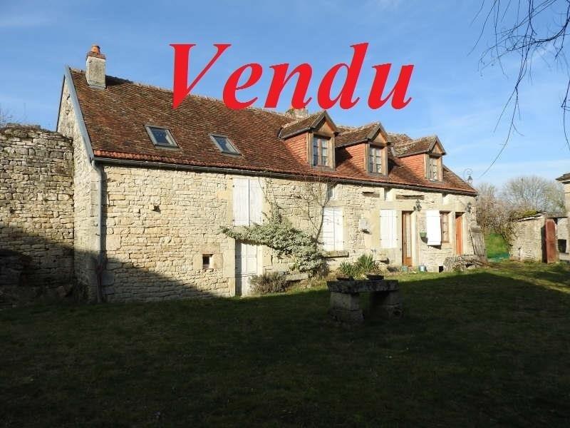 Sale house / villa Axe chatillon-montbard 139000€ - Picture 1