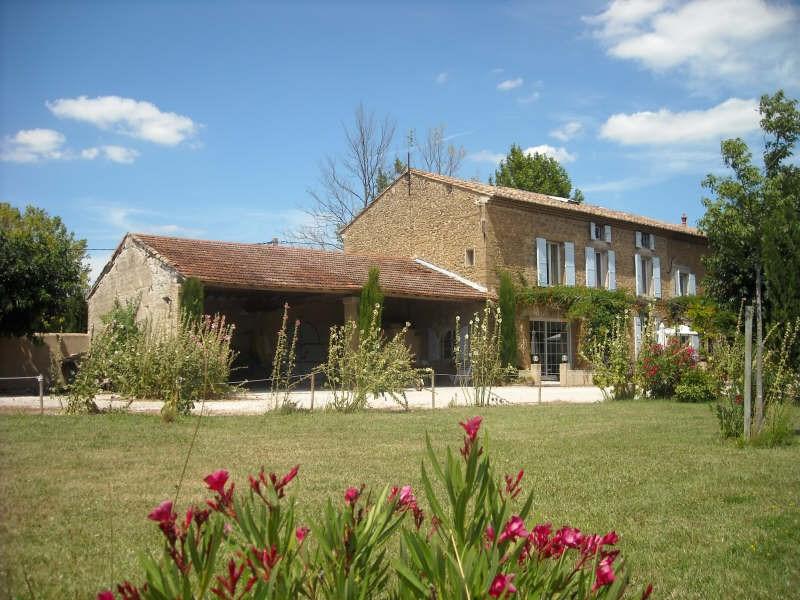 Vente de prestige maison / villa Althen des paluds 867000€ - Photo 1
