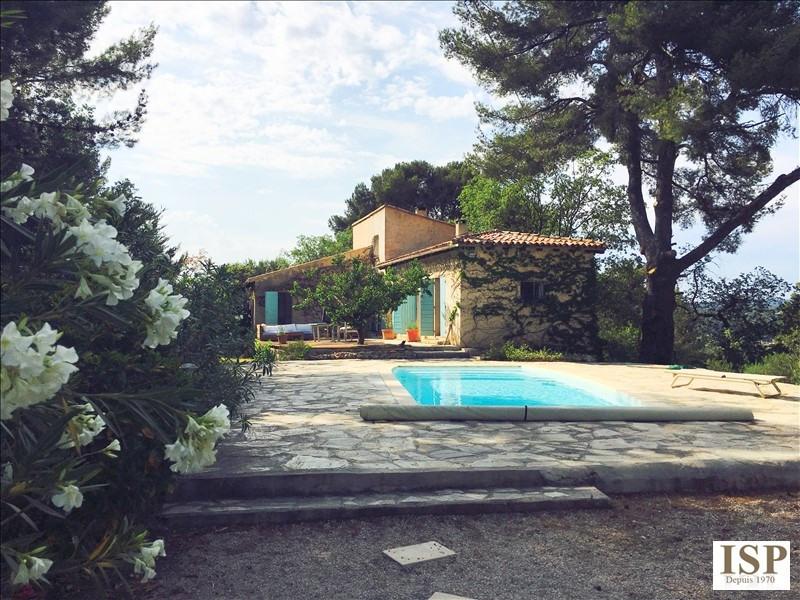 Vente de prestige maison / villa Les milles 807000€ - Photo 1