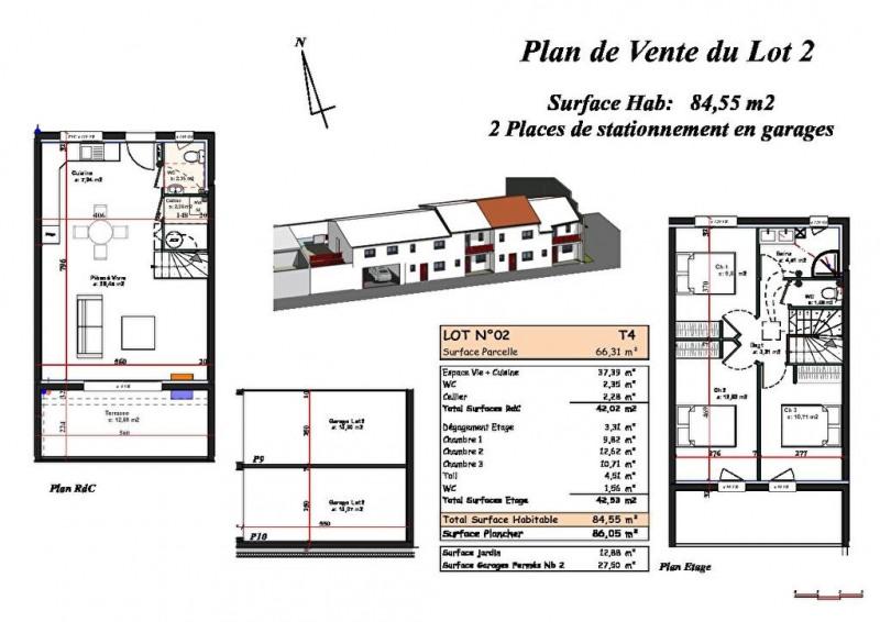 Vente maison / villa Biscarrosse plage 318000€ - Photo 2