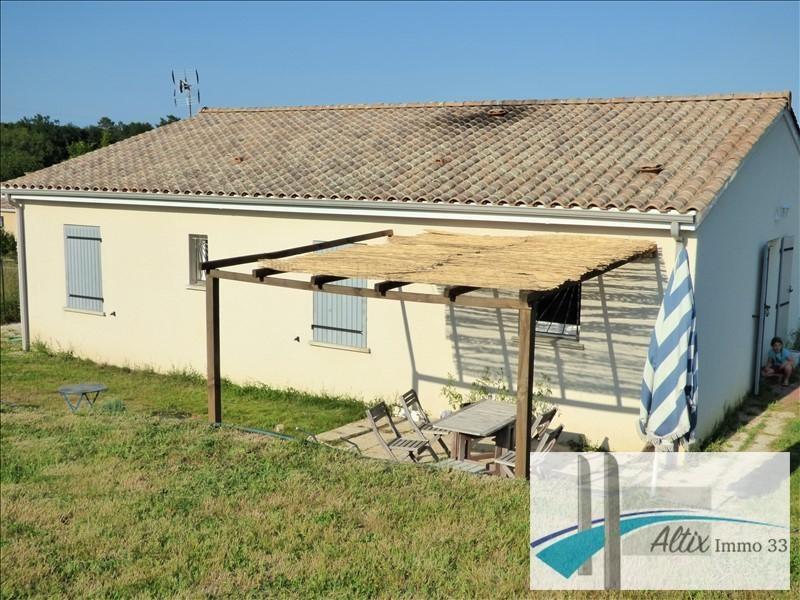 Vente maison / villa Petit palais et cornemps 138000€ - Photo 5