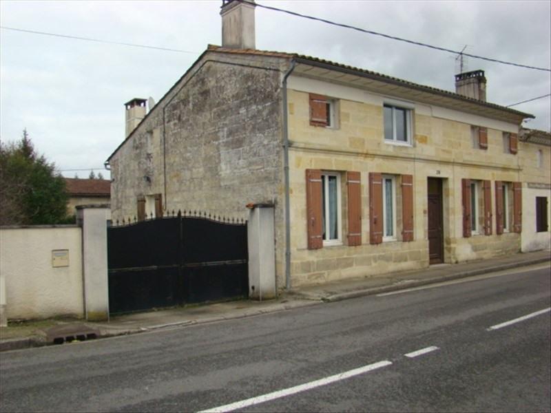 Vente maison / villa Montpon menesterol 167500€ - Photo 1