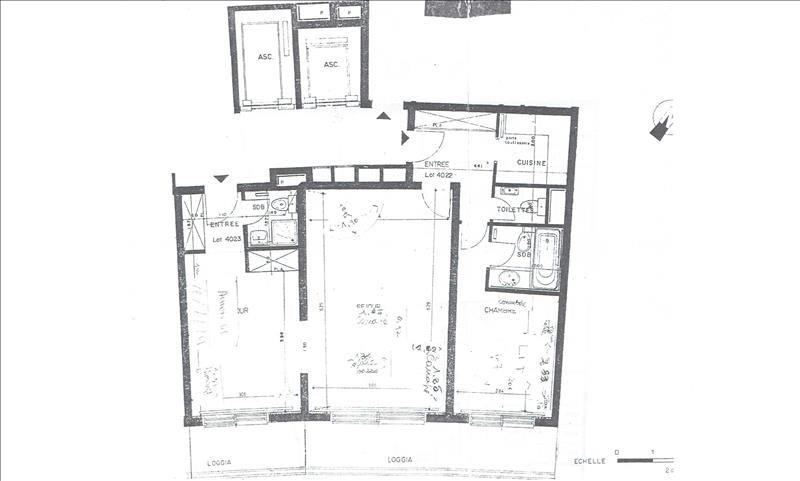 Vente appartement Paris 16ème 950000€ - Photo 5