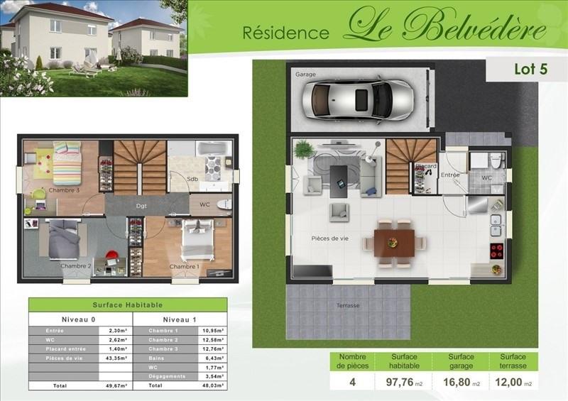 Vente maison / villa Bourgoin jallieu 258000€ - Photo 2