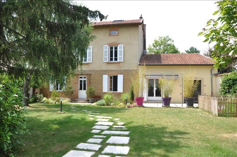 Sale house / villa Villefranche sur saone 490000€ - Picture 1